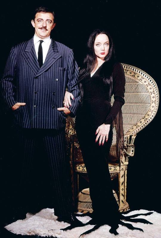 Gomez and Morticia Addams, from original TV show